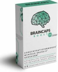 Braincaps Boost Decaf – Cafeïnevrije concentratiepillen – 60 capsules