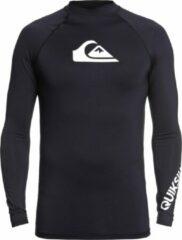 Quiksilver Quicksilver - UV-zwemshirt voor heren - Longsleeve - All Time - Zwart - maat M