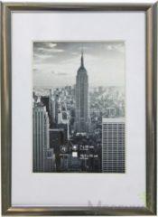 Fotolijst - Henzo - Manhattan - Fotomaat 13x18 cm - Donkergrijs