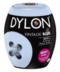 Blauwe DYLON Textielverf Pods Vintage Blue - Wasmachineverf - 350g