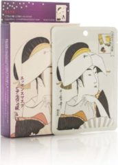Witte Mitomo Japan Mitomo™ Hyaluronic Acid Gezichtsmasker - Anti Aging Face Mask - Gezichtsverzorging Masker