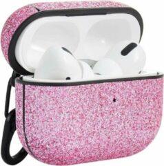 Roze TERRATEC AirBox beschermhoesje voor AirPods Pro Shiny Pink