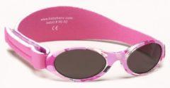 Banz - UV-beschermende zonnebril voor kinderen - Bubzee - Roze Camo - maat Onesize (0-2yrs)
