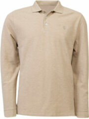 Beige Eagle & Brown Polo lange mouw