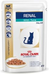 Royal Canin Veterinary Diet Renal Tuna Wet - Kattenvoer - 12x85 g