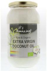 Its Amazing It's Amazing Kokosolie extra virgin bio in glas 1000 Milliliter