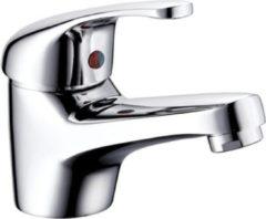 SanitairZone Aloni Euro Wastafelmengkraan Met Waterbesparing Chroom