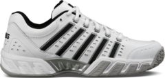Zilveren K-Swiss BIGSHOT LIGHT LTR OMNI - White/Black - Tennisschoenen Maat 45 - 05369129M