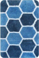 Dutch House badmat Rennes blauw 60x90cm