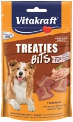 Vitakraft Treaties Bits 120 g - Hondensnacks - Leverworst - Hondenvoer
