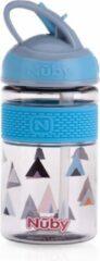 Nûby - Drinkbeker met Harde Tuit uit Tritan™ - 360ml - Blauw - 3jaar+