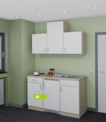Menke Kuechen Menke Küchen Singleküche Sonea 150 cm weiß