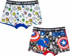 Avengers Captain America - Boxershort 2-Pak - 6-8 Jaar - 116-128