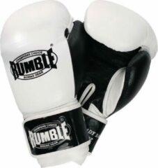 Rumble Ready 2.0 Leer (kick)bokshandschoen Wit 10 Oz