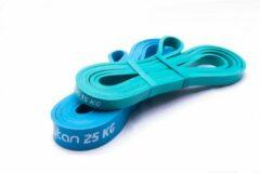 Blauwe Kaytan - Resistance band - Weerstandsbanden - Fitness elastiek - 15 KG & 25 KG - Workout set - Elastiek fitness - elastische weerstandsbanden - Thuis sporten