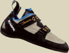 Scarpa Schuhe Velocity Kletterschuhe Herren Größe 43,5 lightgray - royal blue