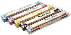 Zilveren Humble Brush Tandenborstel - bamboe - 5st.