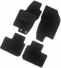Zwarte AutoStyle Automatten Ford Transit Custom 2013- (alleen voor - stoel/bank)