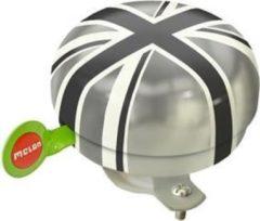 Melon bel Union Jack Plain 60m zwart/grijs