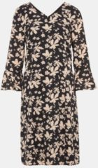 BONITA Kleid mit Blumenprint Bonita schwarz*