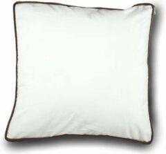 Witte Imoha Sierkussen White Velvet