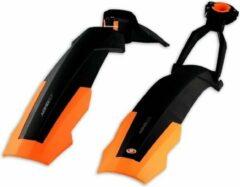 Simpla Spatbordenset Adhd Short 26 - 27.5 Inch Zwart/oranje