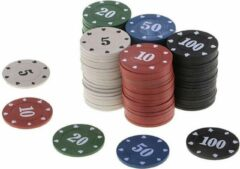 KortingCamera.NL 100Pcs Texas Poker Chip Tellen Bingo Chips Sets Casino Card Game