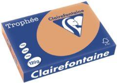 Clairefontaine Trophée Pastel A4 mokkabruin 120 g 250 vel