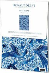 Bekking & Bitz Publishers Cadeaupapier Royal Delft, Delfts Blauw