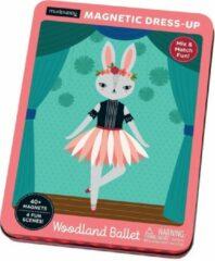 Galison Magneetspel Dress-Up – Woodland Ballet | Mudpuppy