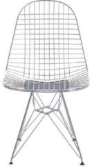 Vitra Wire Chair DKR - verchromt - Sitzhöhe 43 cm