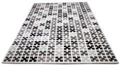Pergamon Designer Teppich Sevilla Modern Grau Creme... 135x190 cm