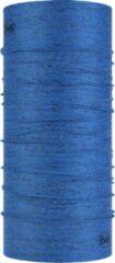 Azuurblauwe BUFF® CoolNet UV+ Reflective AZURE BLUE HTR - Multifunctioneel - Zonbescherming - One size