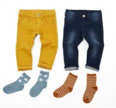 HEMA Baby Jogdenim Donkerblauw (donkerblauw)