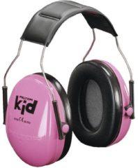 Peltor Kid oorbeschermers voor kinderen neonroze KIDR 27 dB 1 stuks