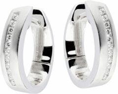 Elegance Oorbellen zilver met zirconia 107.6205.00