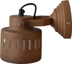 Urban Interiors Roestbruine wandlamp Vintage Ur. AI-WL-228-BA