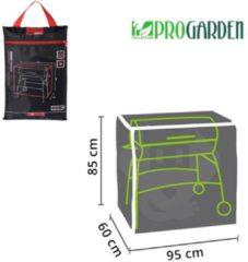 Zwarte Pro Garden ProGarden luxe cilindervormige BBQ hoes 85x95x60