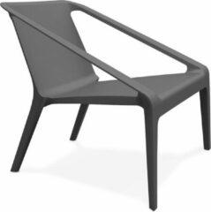 Donkergrijze Kokoon Design Design Stoel SOLEADO