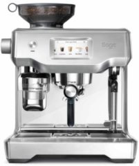 Zilveren Sage The Oracle Touch espressomachine SES990BSS4