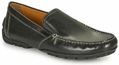 Zwarte Geox - U 1144 V - Mocassins gekleed - Heren - Maat 46 - Zwart - 9999 -Black