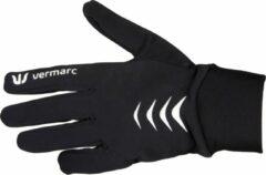 Vermarc Sports Fietshandschoenen Vermarc Roubaix Zwart/Wit - Maat: S/M, Kleur: Zwart