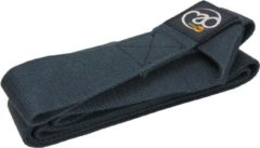Fitness-Mad draagband voor fitnessmat 2,5 meter nylon donkerblauw