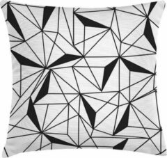 Witte ECO Design FT 008995 Kussen B&W Geometric 45x45