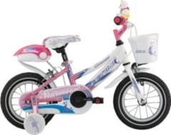 12 Zoll Mädchen Fahrrad Ferrini Starmoon pink-violett