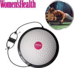 Grijze Women's Health Balance Ball – Balanstrainer - balansbal – fitnessaccessoires - Home Fitness