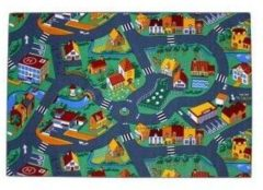 Associated weavers Vloerkleed - Little village – Verkeerskleed - 140 x 200cm