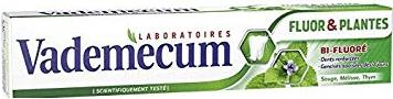 Afbeelding van Vademecum Tandpasta Fluor en Planten 75 ml