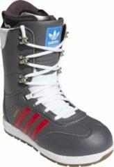 Adidas Samba ADV snowboardschoenen grey five / scarlet / gold metallic