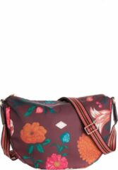 Oilily City schoudertas burgundy blaze